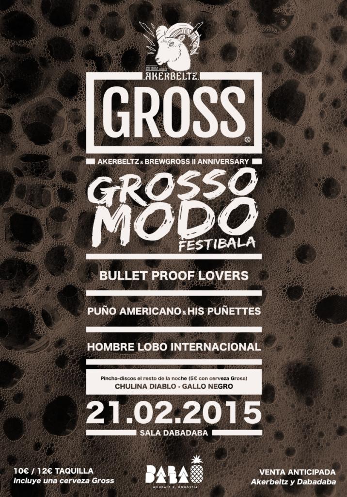 Cartel del festival Grosso Modo