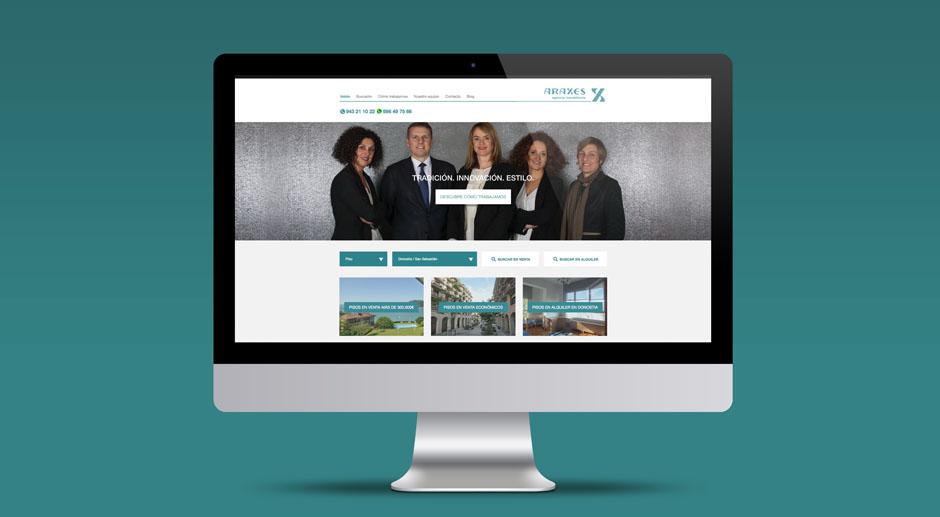 Triplevdoble dentro y fuera de internet with love for Agencia inmobiliaria